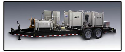 ECT's portable wash skid